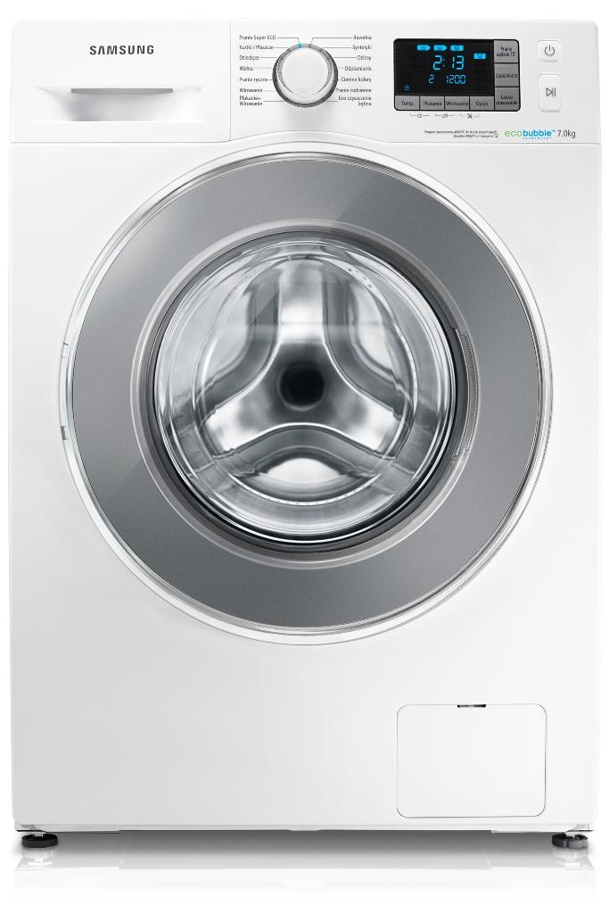 pralka samsung wf70f5e4w2w eco bubble crystal gloss. Black Bedroom Furniture Sets. Home Design Ideas